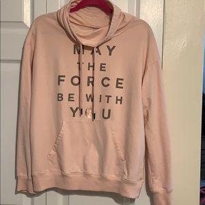 Pink Star Wars hoodie